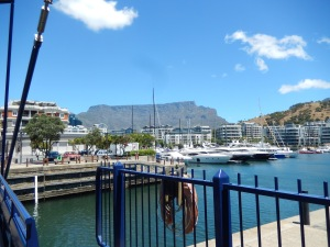 Table Mountain from the Marina, Cape Town